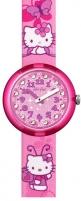 Vaikiškas laikrodis Swatch Hello Kitty Buterfly ZFLNP005 Vaikiški laikrodžiai