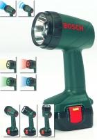 Vaikiškas LED žibintuvėlis šviečia 4 skirtingomis spalvomis   Bosch   Klein