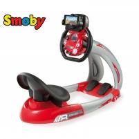 Vaikiškas lenktynių simuliatorius su telefono laikikliu | V8 | Smoby Rc auto kids