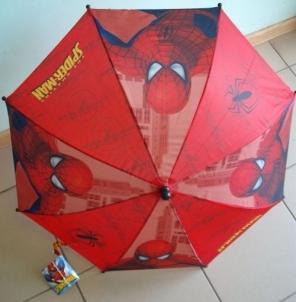 Vaikiškas lietsargis Spider-Man 70cm x 55cm mechaninis