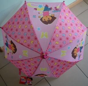 Vaikiškas skėtis DORA 70cm x 55cm mechaninis Skėčiai