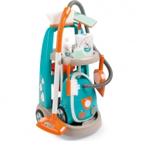 Vaikiškas namų tvarkymo rinkinys ir dulkių siurblys   Clean service   Smoby 330309 Toys for girls