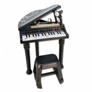 Vaikiškas pianinas Bontempi 31 keys el.piano w/microphone, legs and stool
