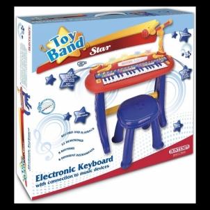Vaikiškas pianinas Bontempi 37 keys el.keyboard with legs, microph.,stool
