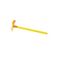 Vaikiškas sodininko įrankis - kauptukas-kultivatorius 61 cm | Mochtoys 10854_D Toys for girls