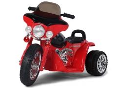 """Vaikiškas triratis """"Harley Davidson"""" RAUDONAS Automobiliai vaikams"""
