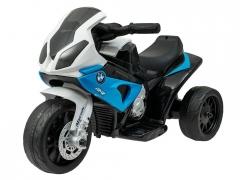 """Vaikiškas triratis motociklas """"BMW"""" , mėlynas Automobiliai vaikams"""