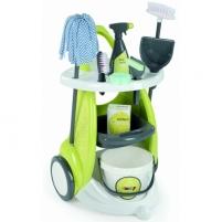 Vaikiškas valymo rinkinys vežimėlyje | Smoby