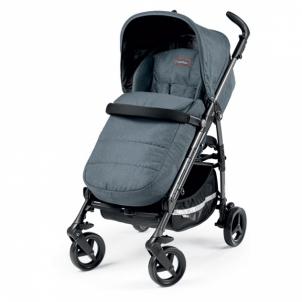 Vaikiškas vežimėlis Stroller SI Completo Blue Denim Carts for the kids and their accessories