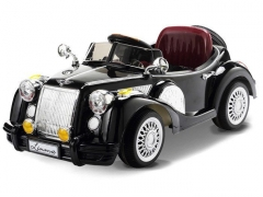 Vaikiškas vienvietis elektromobilis Bentley Retro, juodas Automobiliai vaikams