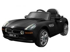 Vaikiškas vienvietis elektromobilis BMW Z8; juodas Automobiliai vaikams