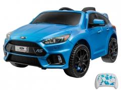 Vaikiškas vienvietis elektromobilis Ford Focus, mėlynas Automobiliai vaikams