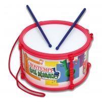 Vaikiški būgnai Bontempi Drum with shoulder strap and sticks