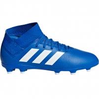 Vaikiški futbolo bateliai adidas Nemeziz 18.3 FG JR DB2351