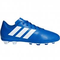 Vaikiški futbolo bateliai adidas Nemeziz 18.4 FxG JR DB2357
