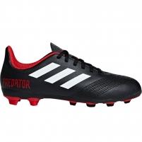 Vaikiški futbolo bateliai adidas Predator 18.4 FxG JR DB2323