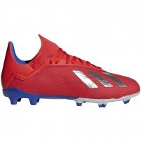 Vaikiški futbolo bateliai adidas X 18.3 FG JR BB9371