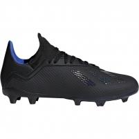 Vaikiški futbolo bateliai adidas X 18.3 FG JR D98184 Futbola apģērbi