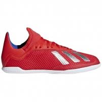 Vaikiški futbolo bateliai adidas X 18.3 IN JR BB9396