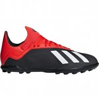 Vaikiški futbolo bateliai adidas X 18.3 TF JR BB9402