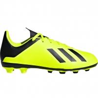 Vaikiški futbolo bateliai adidas X 18.4 FxG JR DB2420