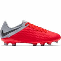 Vaikiški futbolo bateliai Nike Hypervenom 3 Academy FG JR AJ4119 600