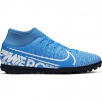 Vaikiški futbolo bateliai Nike Mercurial Superfly 7 Club TF AT8156 414