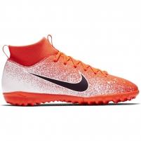 Vaikiški futbolo bateliai Nike Mercurial Superfly X 6 Academy TF JR AH7344 801 Futbola apģērbi
