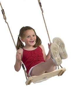 Vaikiškos medinės supynės 100cm Žaidimų aikštelės