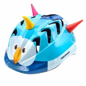 Vaikškas dviratininko šalmas Meteor MV7 bird Velo ķiveres