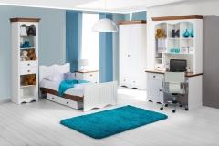 Vaikų kambario komplektas Princessa Furniture collection princessa