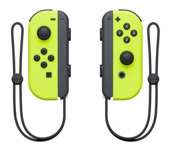 Vairamentė Nintendo Switch Joy-Con Pair Yellow Žaidimų konsolės ir priedai
