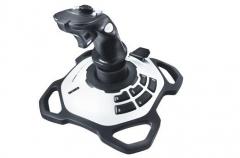 Vairasvirtė Logitech Extreme 3D Pro, 12 programuojamų mygtukų, USB Žaidimų konsolės ir priedai