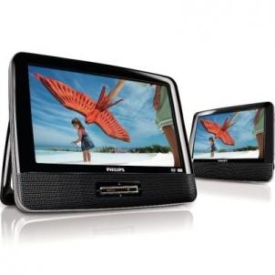Philips Portable DVD Player PD9122 23 cm/9'' LCD Dual screens Video atskaņotājus
