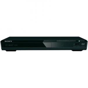 Vaizdo grotuvas Sony DVD player DVPSR370B JPEG, MP3, MPEG-4, WMA, AAC and Linear PCM, Bluetooth, Video players