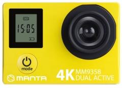 Vaizdo kamera Manta MM9358 4K Sport Camera with Dual Screen Vaizdo kameros