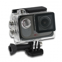 Video camera Waterproof Sports Camera Full HD Qoltec 2 | 4K | black The video camera