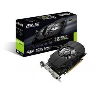 Vaizdo plokštė ASUS GeForce GTX 1050 Ti, 4GB GDDR5 (128 Bit), HDMI, DVI, DP