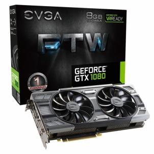 Vaizdo plokštė EVGA GeForce GTX 1080 FTW GAMING ACX 3.0, 8GB GDDR5X (256 Bit), HDMI, DVI, 3xDP