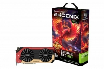Vaizdo plokštė Gainward GeForce GTX 1080 Phoenix GS GLH, 8GB GDDR5X (256 Bit), HDMI, DVI, 3xDP