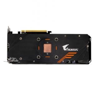 Vaizdo plokštė Gigabyte AORUS NVIDIA, 6 GB, GeForce GTX 1060, GDDR5, PCI Express 3.0, Cooling type Active, Processor frequency 1632 MHz, DVI-D ports quantity 1, HDMI ports quantity 1, Memory clock speed 9026 MHz