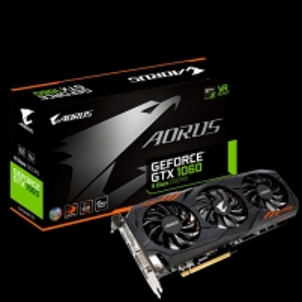 Vaizdo plokštė Gigabyte GeForce GTX 1060 6GB 8Gbps, 6GB, DVI/HDMI/DP