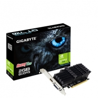 Vaizdo plokštė Gigabyte Low Profile NVIDIA, 2 GB, GeForce GT 710, GDDR5, PCI Express 2.0, Processor frequency 954 MHz, HDMI ports quantity 1, Memory clock speed 5010 MHz