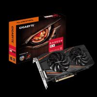Vaizdo plokštė Gigabyte Radeon RX 580 Gaming 4G, 4GB, HDMI/DP/DVI