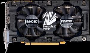 Vaizdo plokštė Inno3D GeForce GTX 1070 Ti X2 v2, 8GB GDDR5 (256 Bit), HDMI, DVI, DP