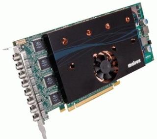 Vaizdo plokštė MATROX M9188 2GB, 8 x Mini DisplayPort (8xDP/ 8xDVI), PCI-Express x16, retail