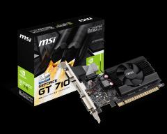 Vaizdo plokštė MSI GeForce GT 710 2GD3 LP, 2GB ,DDR3 ,PCI Express x16 ,DVI-D, HDMI