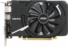 Vaizdo plokštė MSI GeForce GTX 1050 Ti AERO ITX 4G OCV1, 4gb, DisplayPort, HDMI, DL-DVI-D