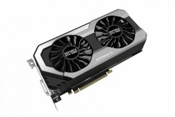 Vaizdo plokštė PALIT GeForce GTX 1060 JetStream, 6GB GDDR5 (192 Bit), HDMI, DVI, 3xDP