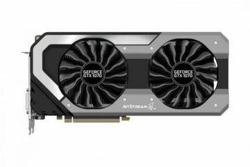 Vaizdo plokštė PALIT GeForce GTX 1070 Jetstream, 8GB GDDR5 (256 Bit), HDMI, DVI, 3xDP